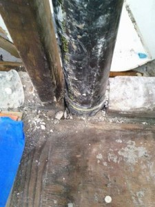 Sewage Pipe Restoration from Sewage Backup Situation